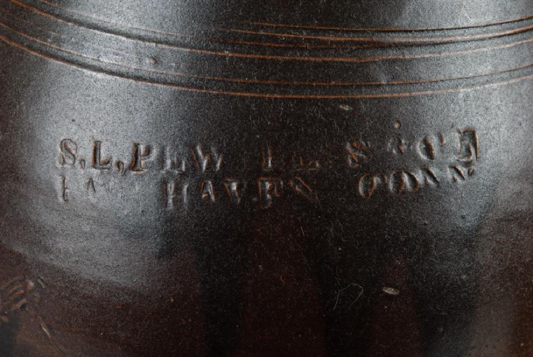 S.L. Pewtress Stoneware Pitcher - 3