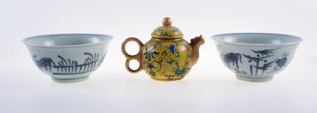 Chinese Porcelain Grouping - 4