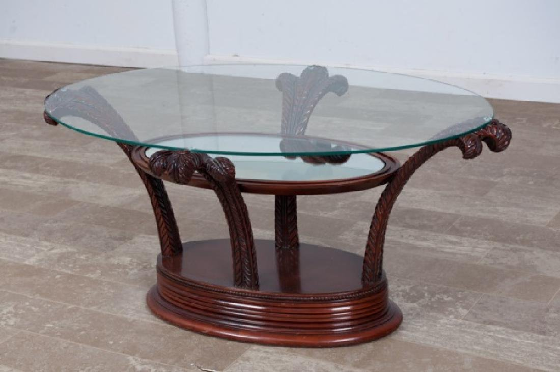 Prince of Wales Hollywood Regency Coffee Table