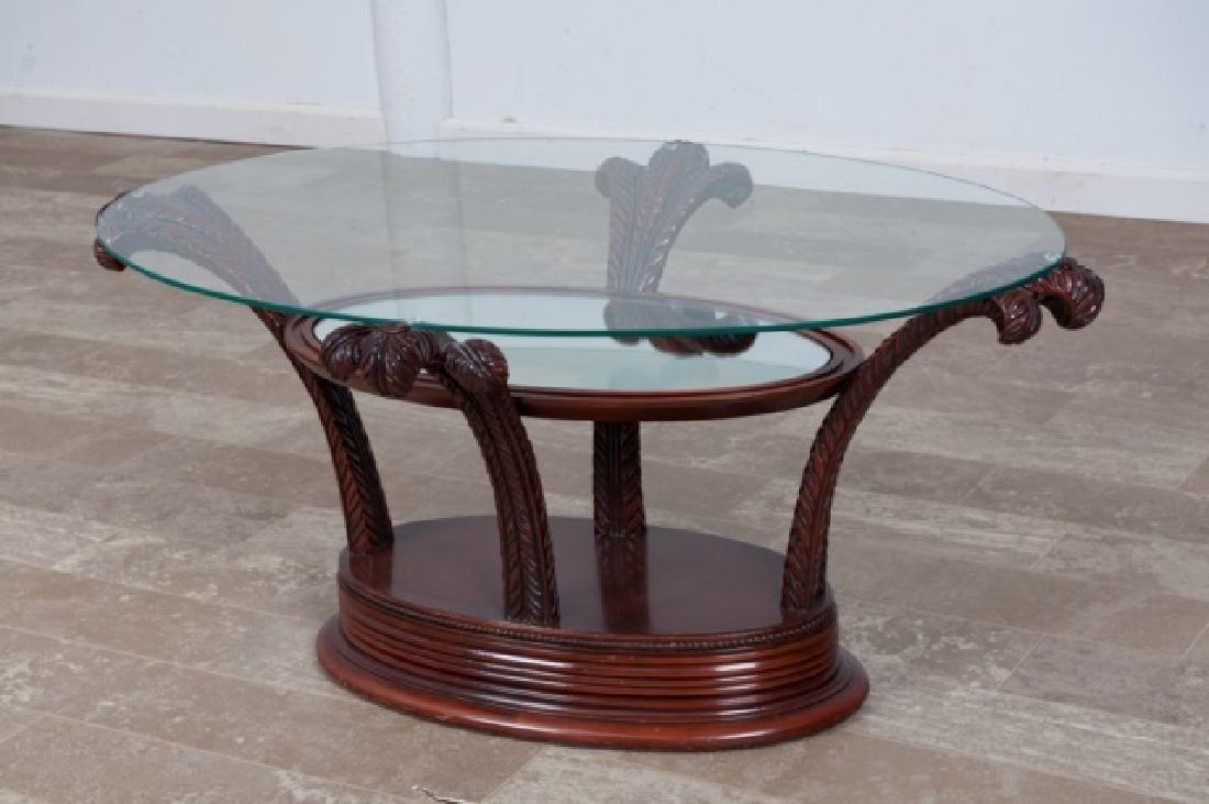 Prince of Wales Hollywood Regency Coffee Table