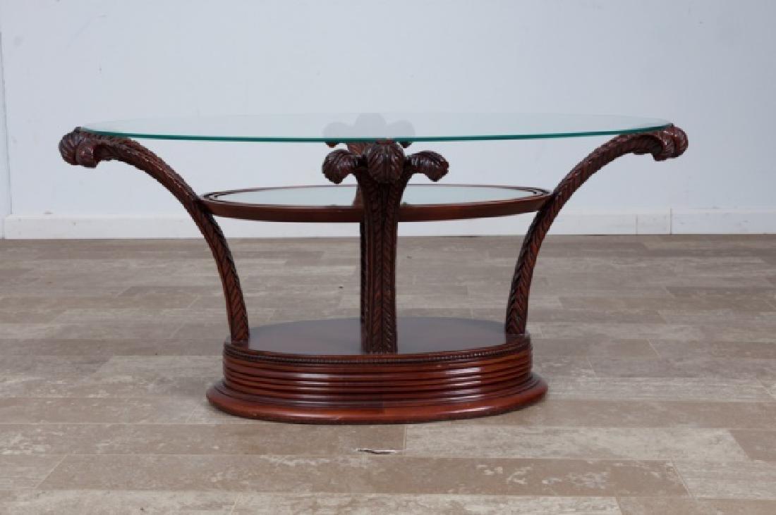 Prince of Wales Hollywood Regency Coffee Table - 2