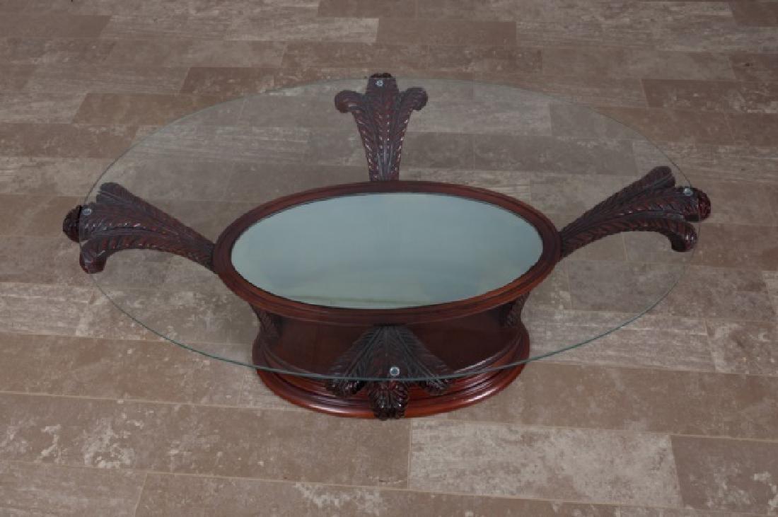 Prince of Wales Hollywood Regency Coffee Table - 3
