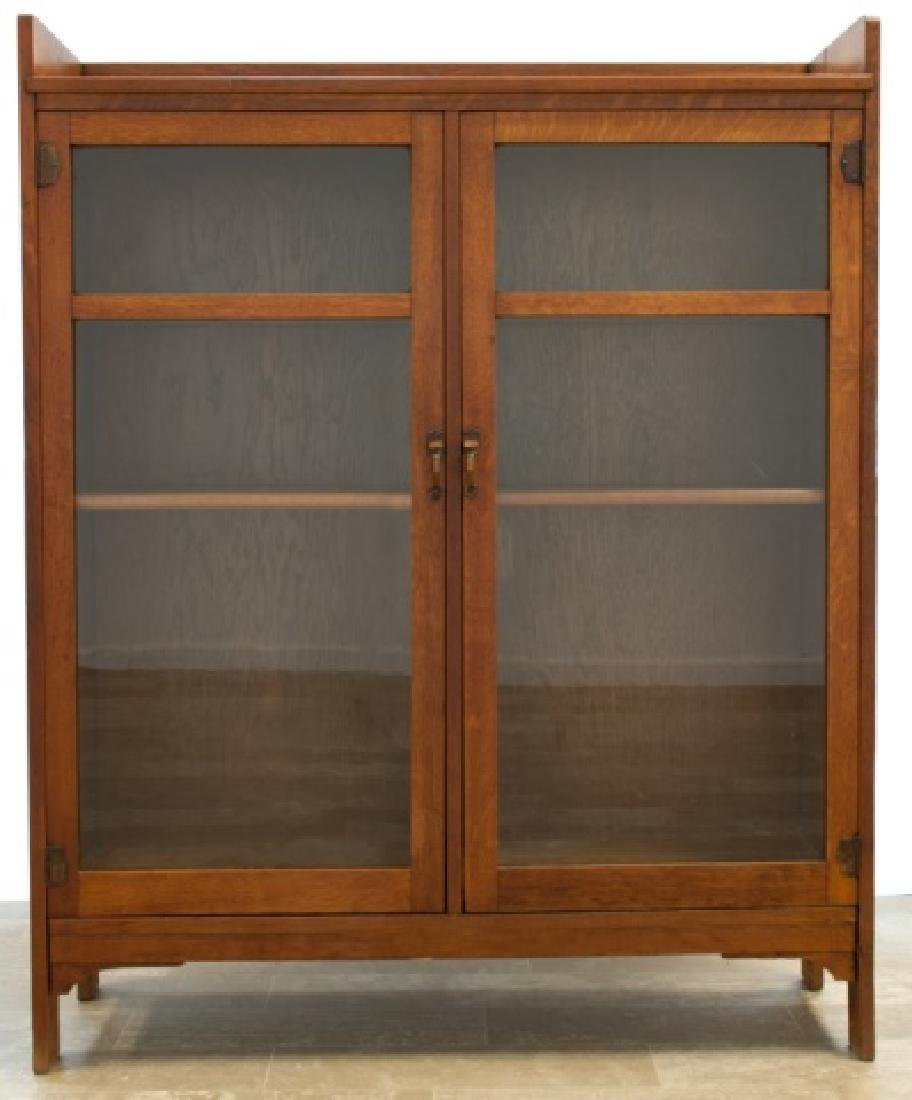 Limberts Arts & Crafts Enclosed Bookcase