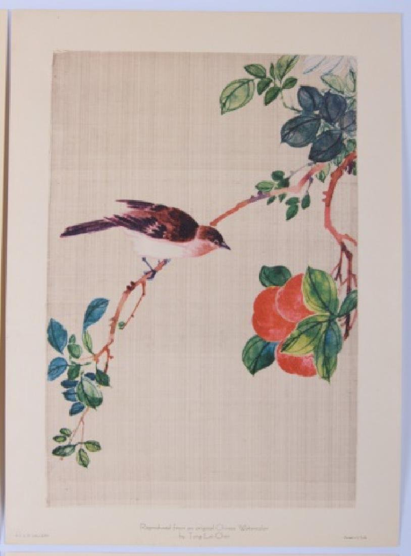 Tung Lai-Chen Chinese Watercolors Repro Set - 3