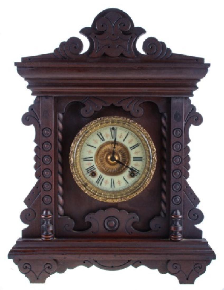 Ansonia Eight Day Norwich Strike Mantle Clock
