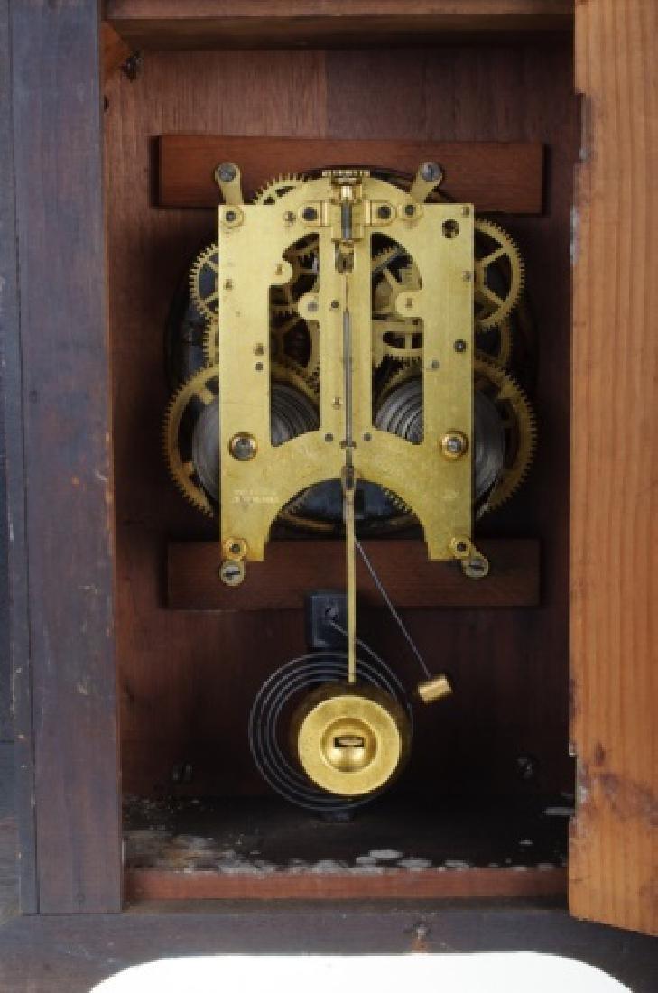 Ansonia Eight Day Norwich Strike Mantle Clock - 7