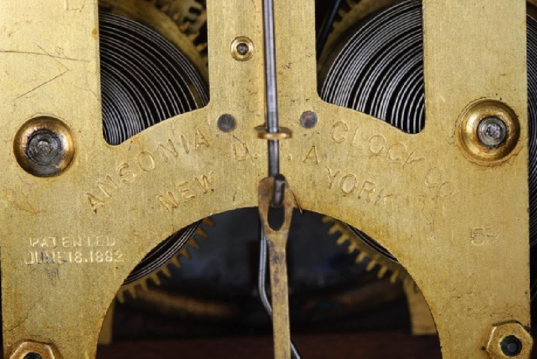 Ansonia Eight Day Norwich Strike Mantle Clock - 8