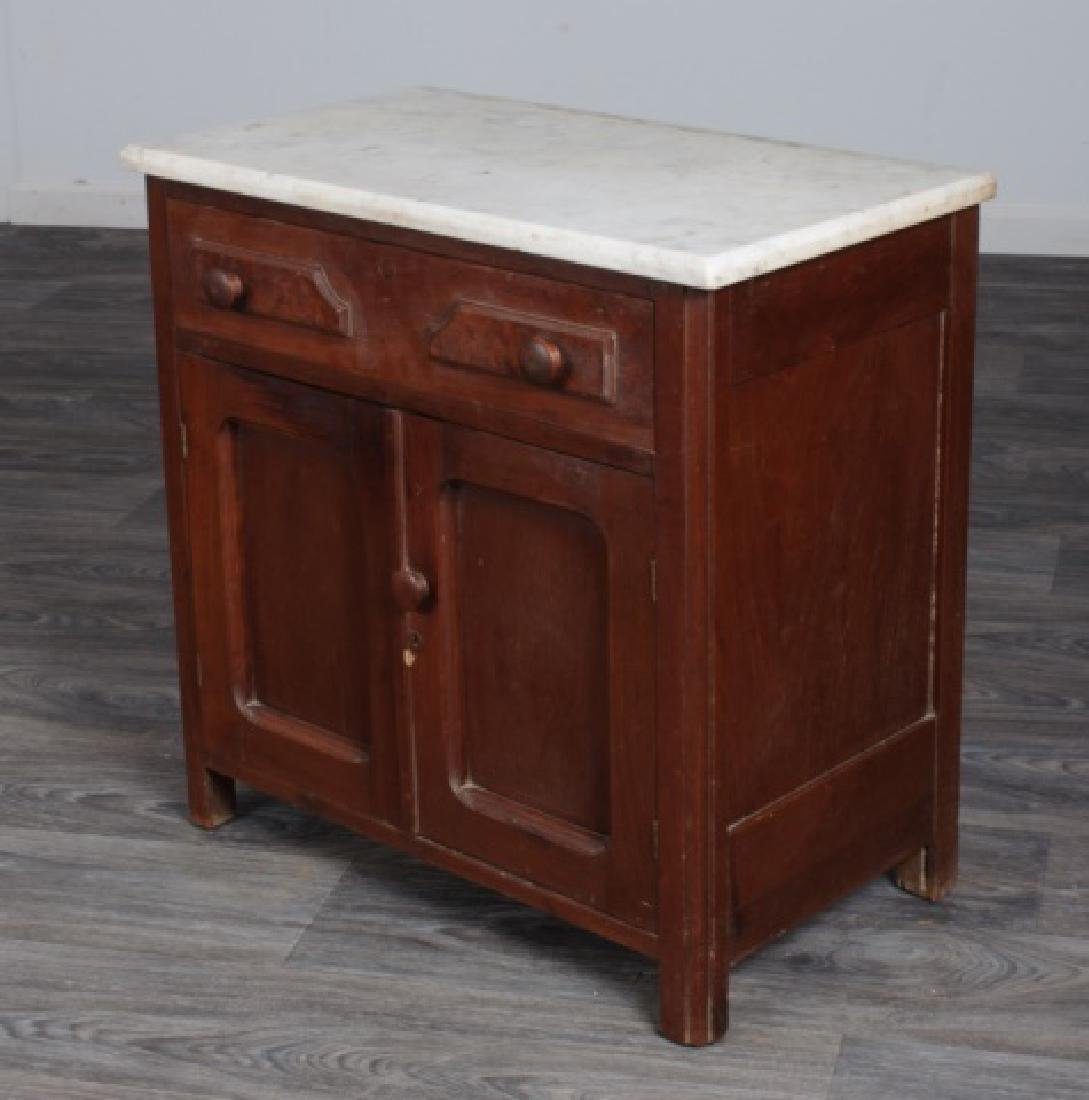 Marble Top Wash Stand