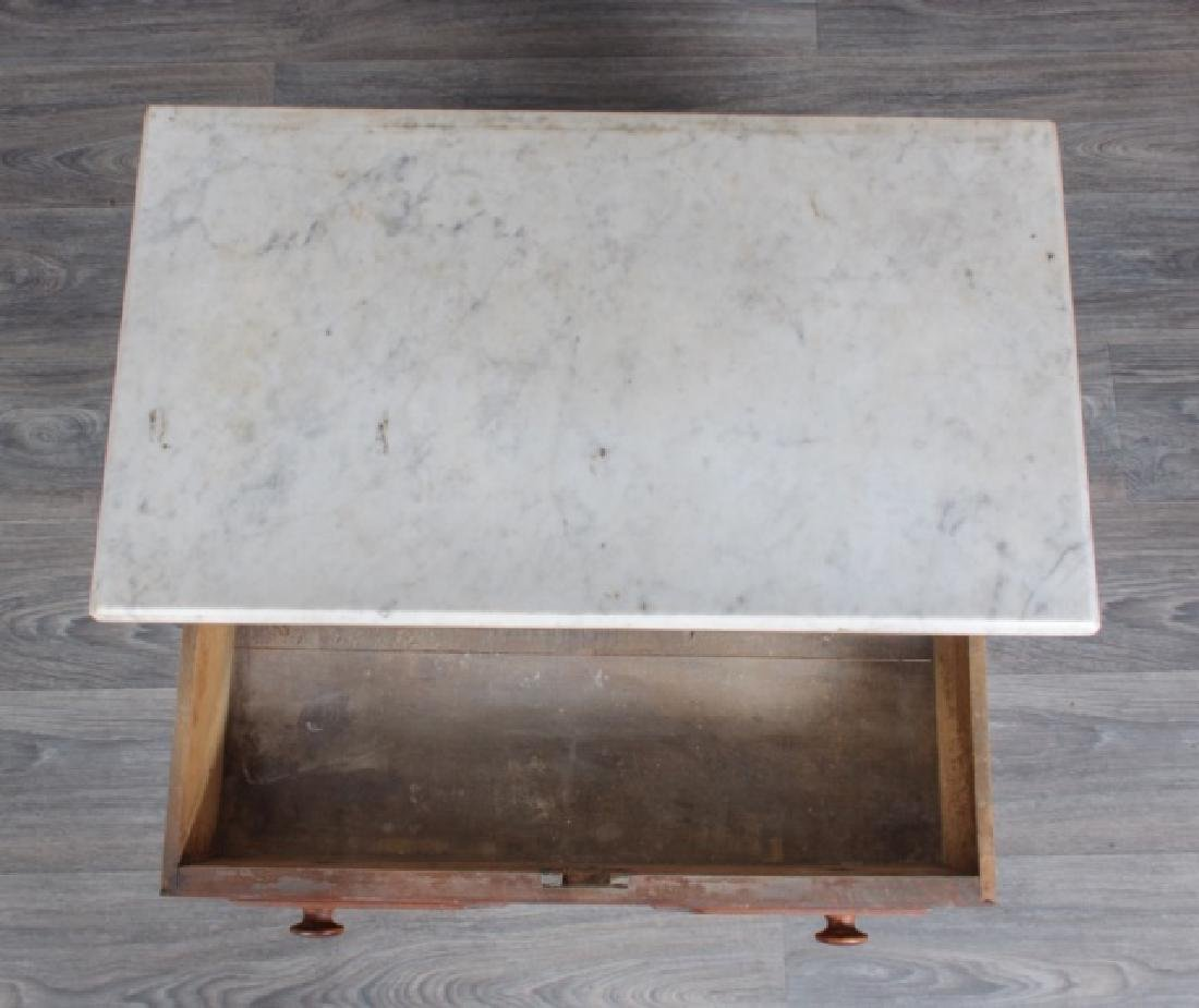 Marble Top Wash Stand - 4