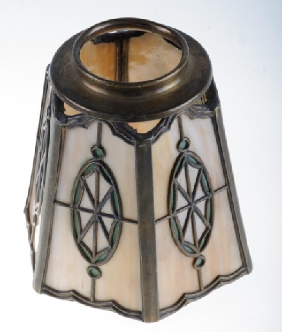 Handel Leaded Slag Glass Shade