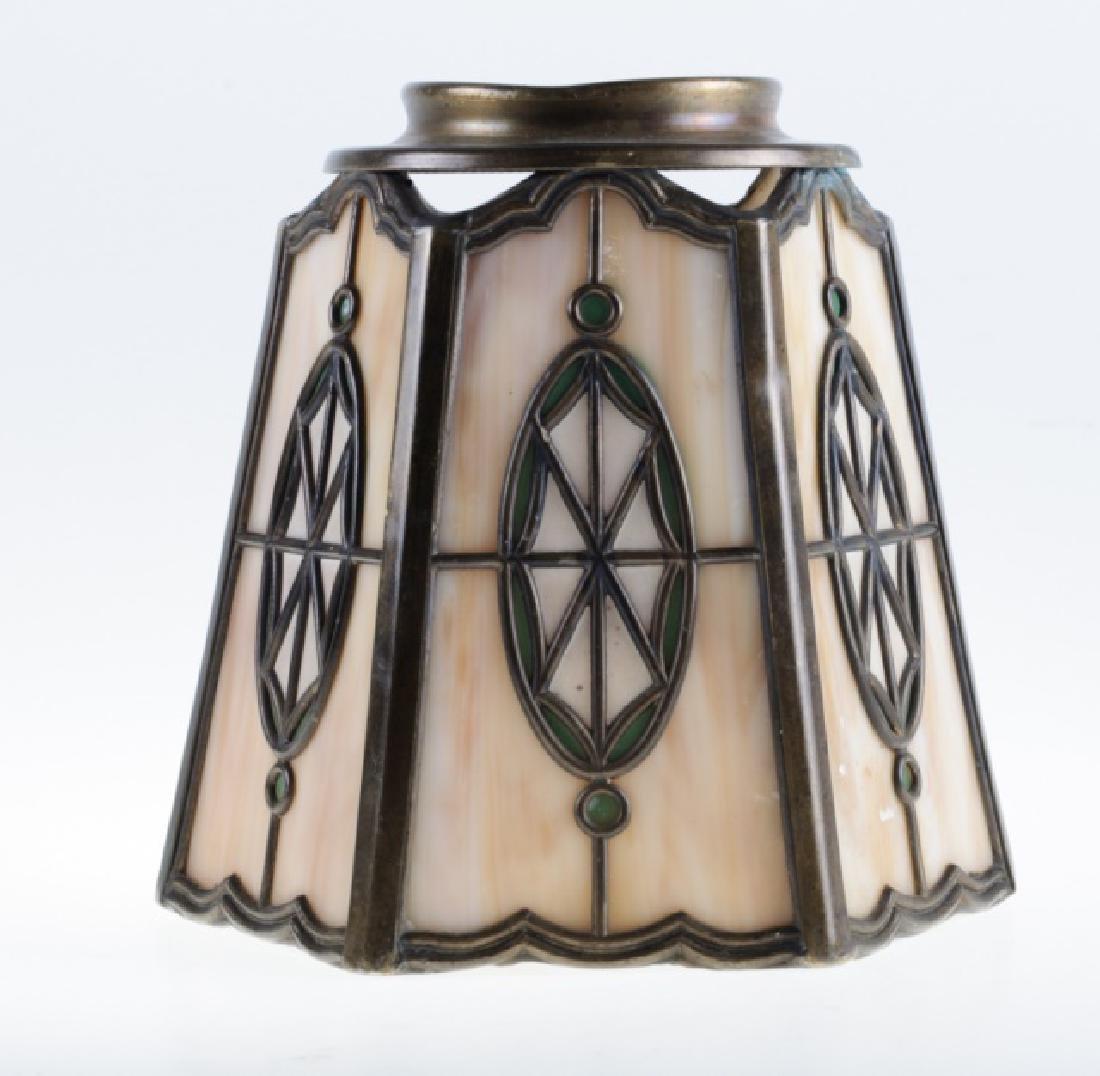 Handel Leaded Slag Glass Shade - 2