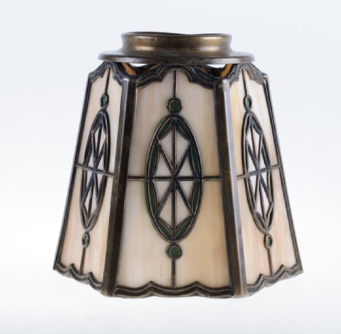 Handel Leaded Slag Glass Shade - 3