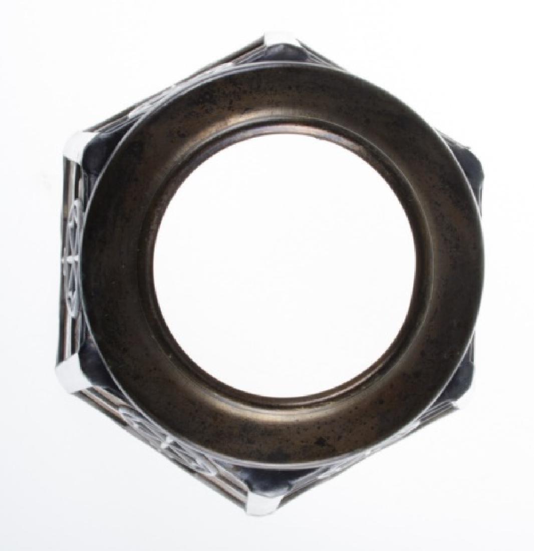 Handel Leaded Slag Glass Shade - 4