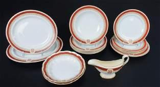 Worcester Royal Porcelain Partial Dinner Service