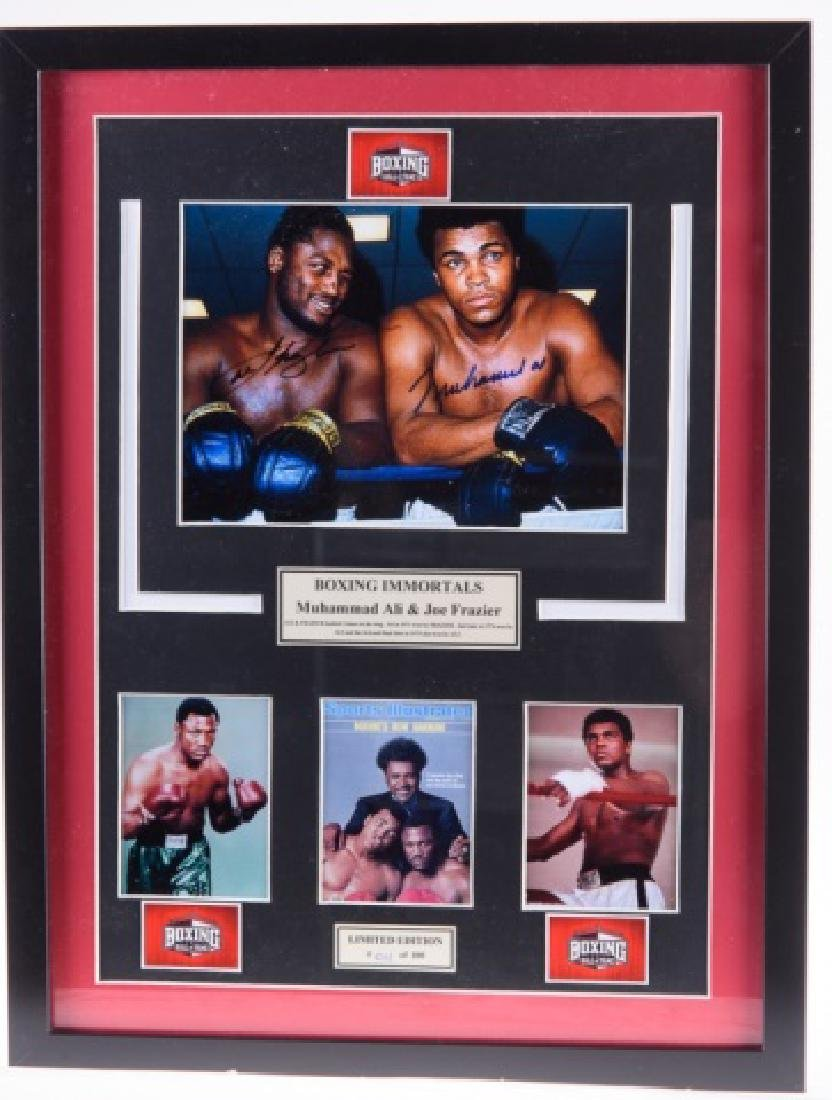 Ali & Frazier Double Signed Photograph #011/100