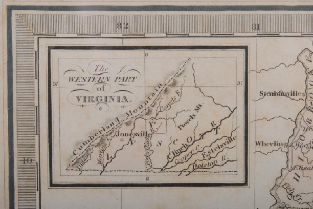 Map of Virginia, 1842 - 3