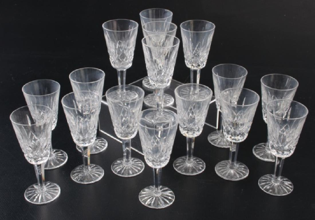 Waterford Lismore Sherry Glasses, 16 P.