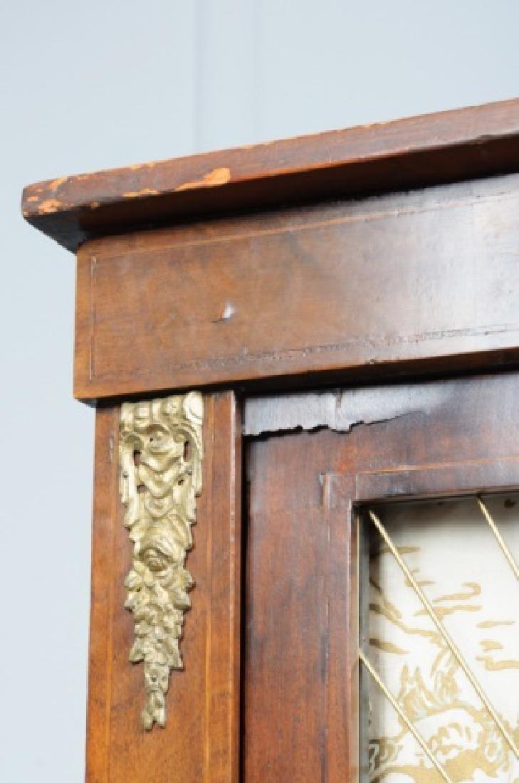 Mahogany Regency Bookcase Speaker Cabinet - 10