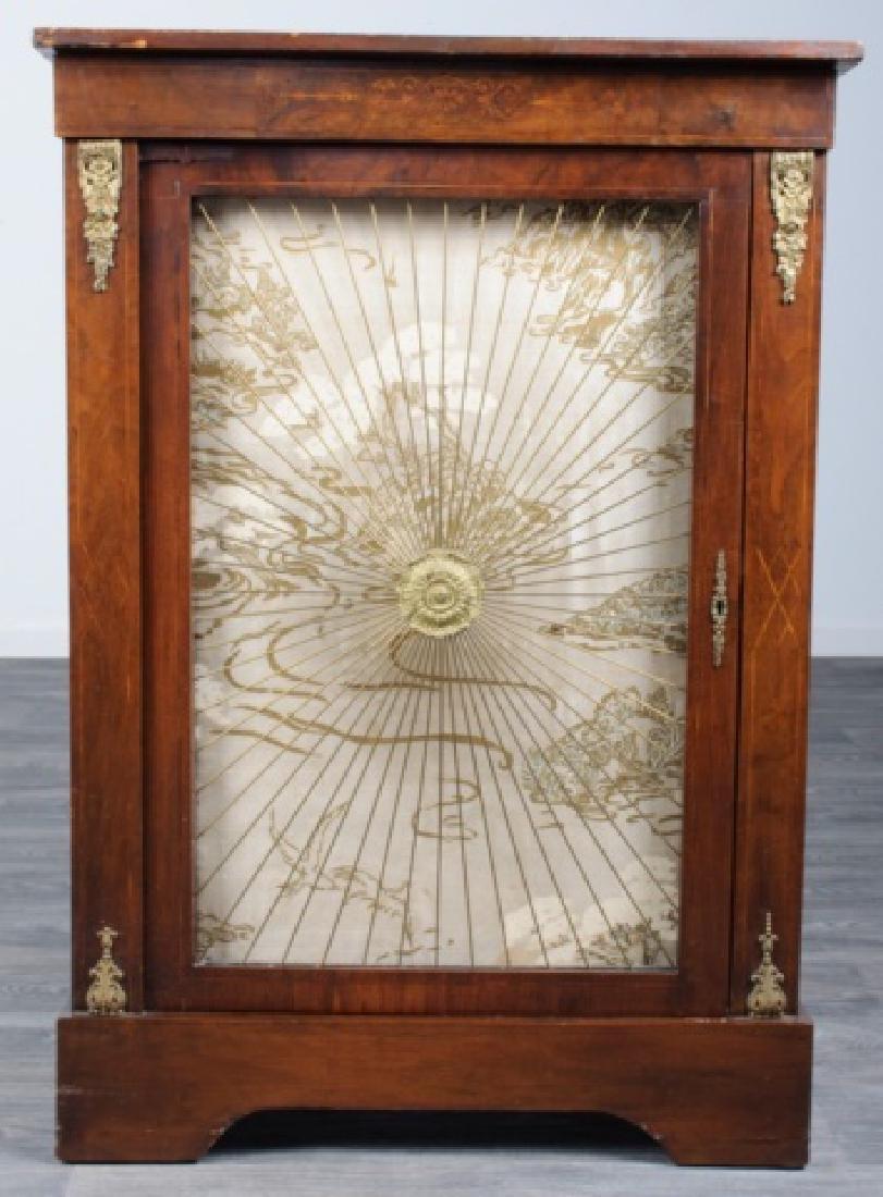 Mahogany Regency Bookcase Speaker Cabinet - 2