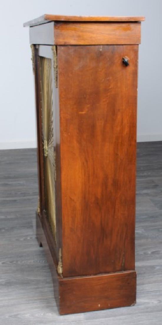 Mahogany Regency Bookcase Speaker Cabinet - 5