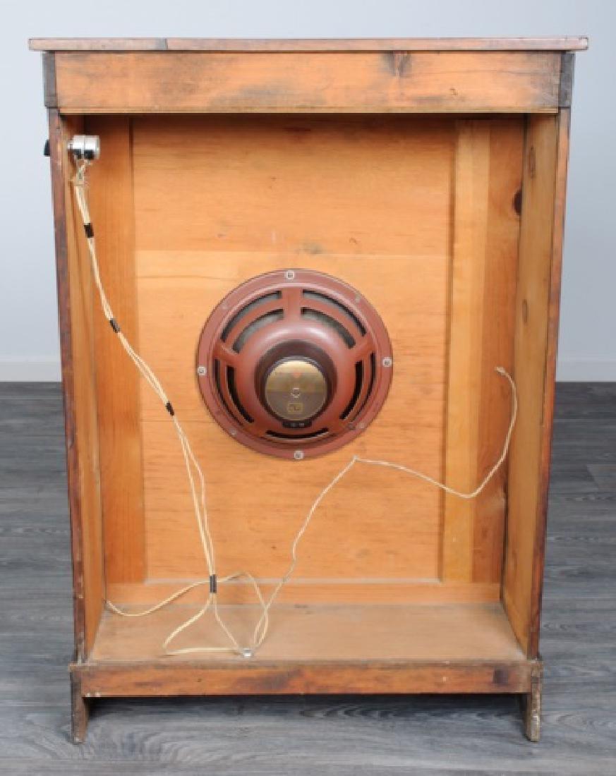 Mahogany Regency Bookcase Speaker Cabinet - 6