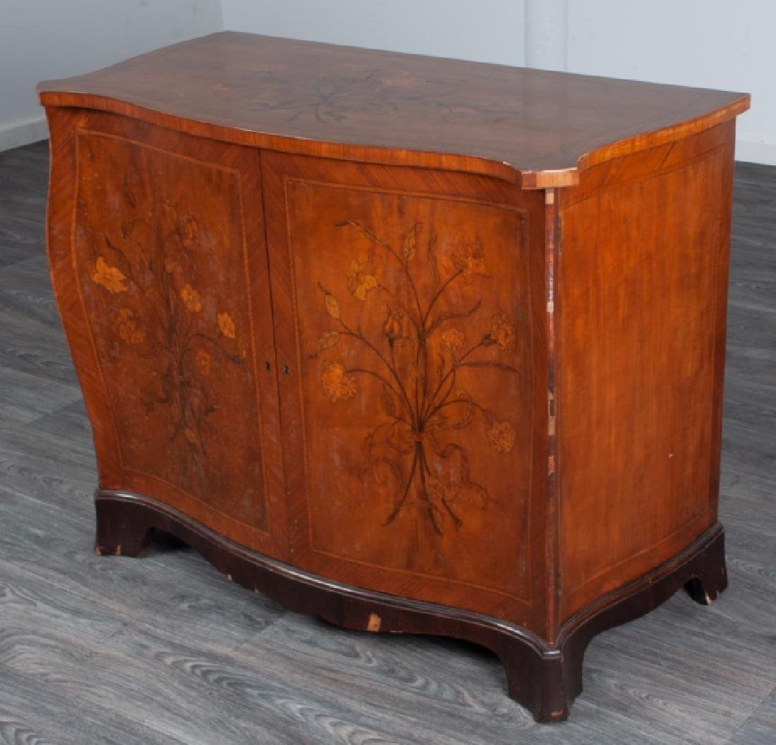 Italian Marquetry Chest of Drawers