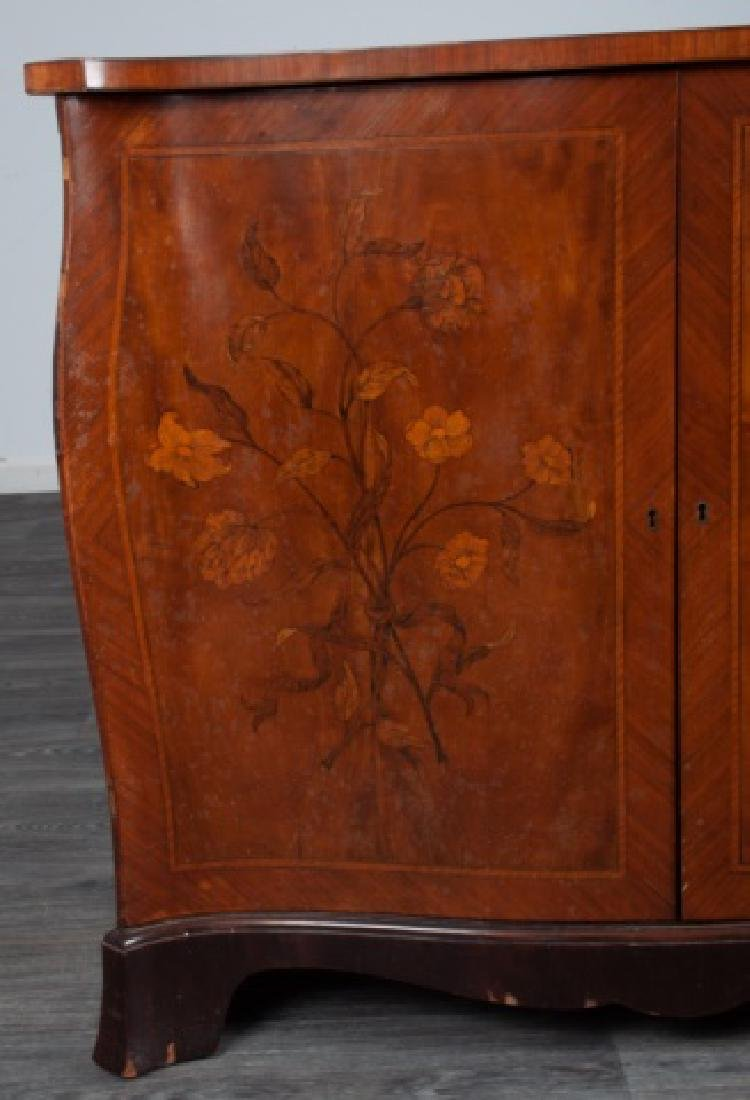 Italian Marquetry Chest of Drawers - 2