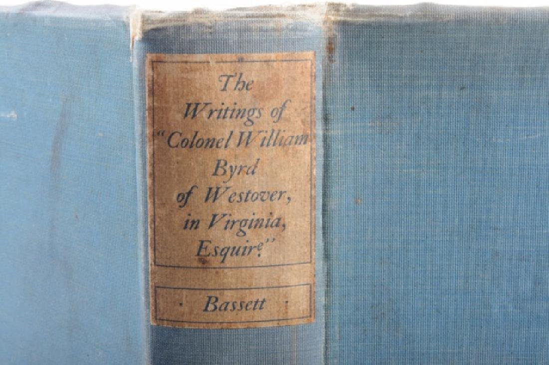 The Writings of Colonel William Byrd of Westover - 4