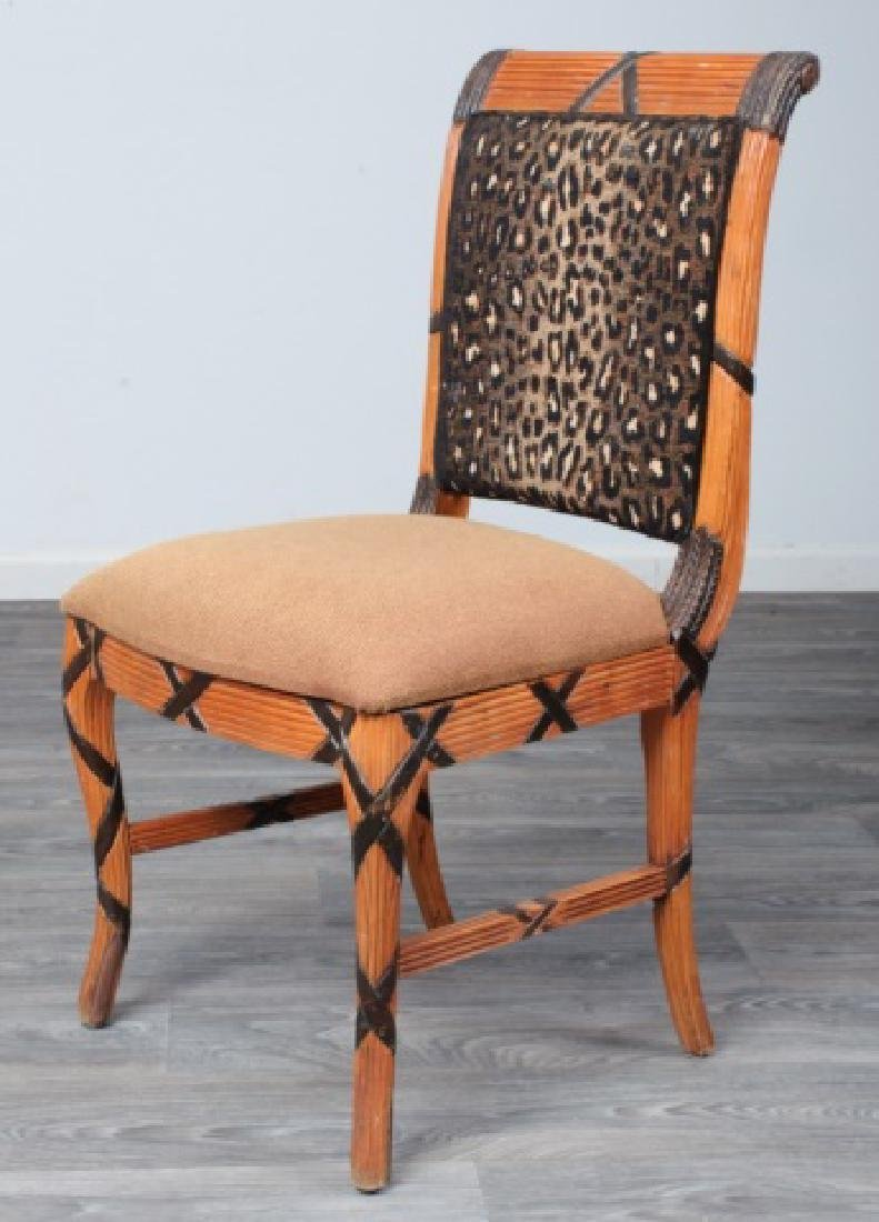 Early Empire Style Square Back Side Chair