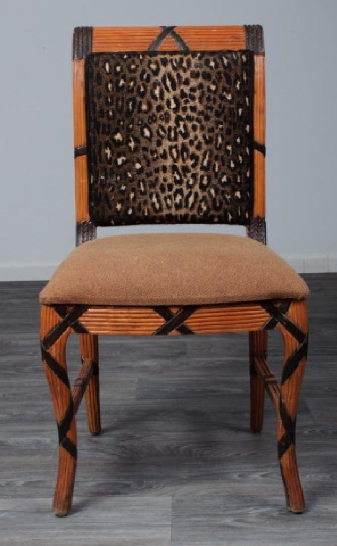 Early Empire Style Square Back Side Chair - 2
