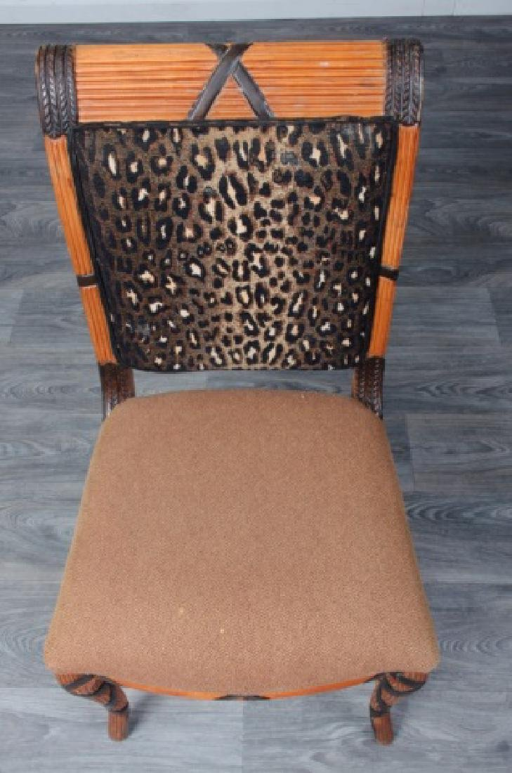 Early Empire Style Square Back Side Chair - 3