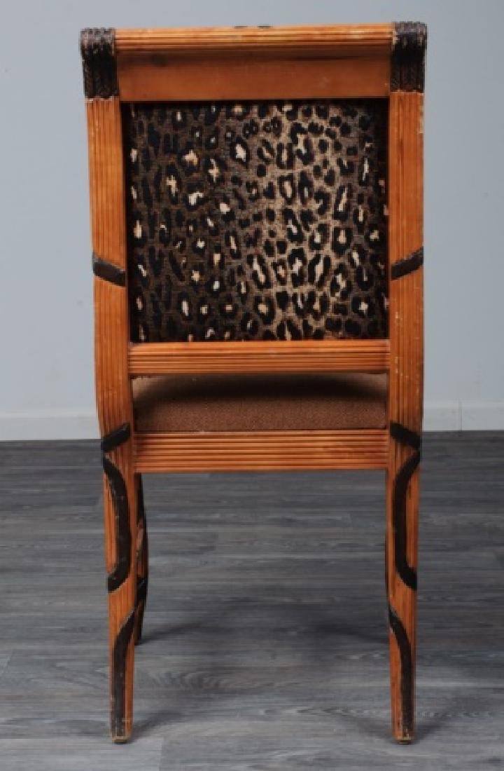 Early Empire Style Square Back Side Chair - 5