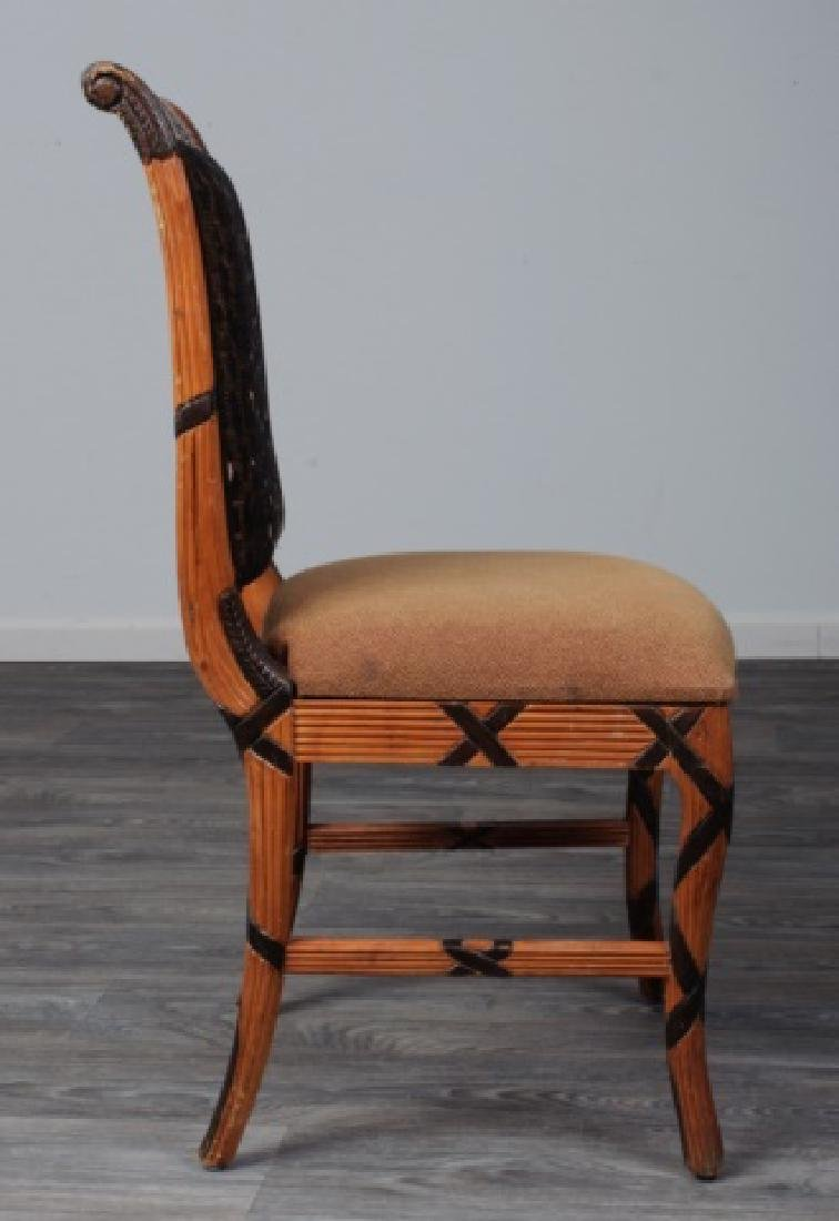 Early Empire Style Square Back Side Chair - 6