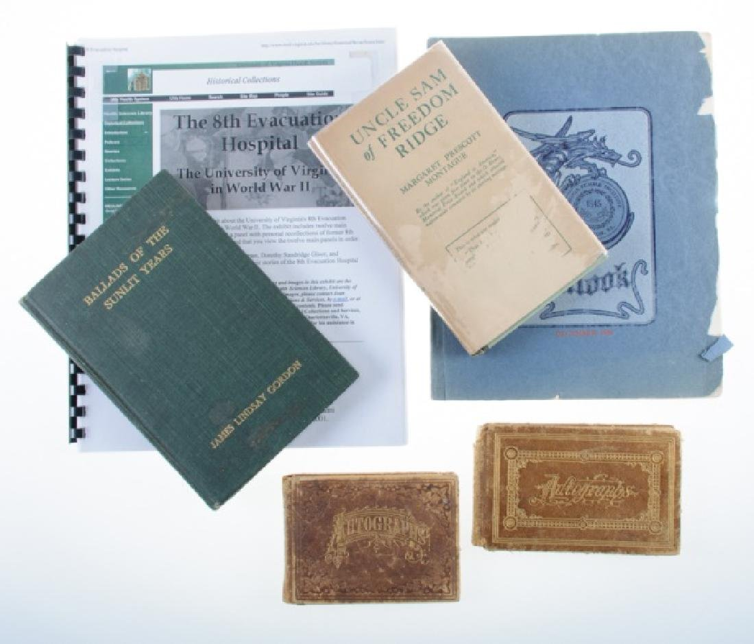 Volumes of Virginia  & Others