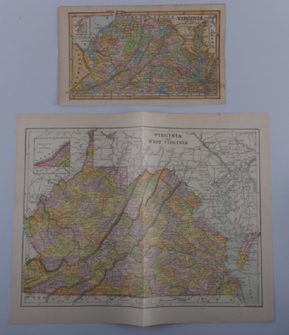 Virginia Maps, 19th Century