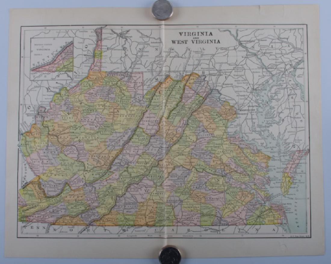 Virginia Maps, 19th Century - 2