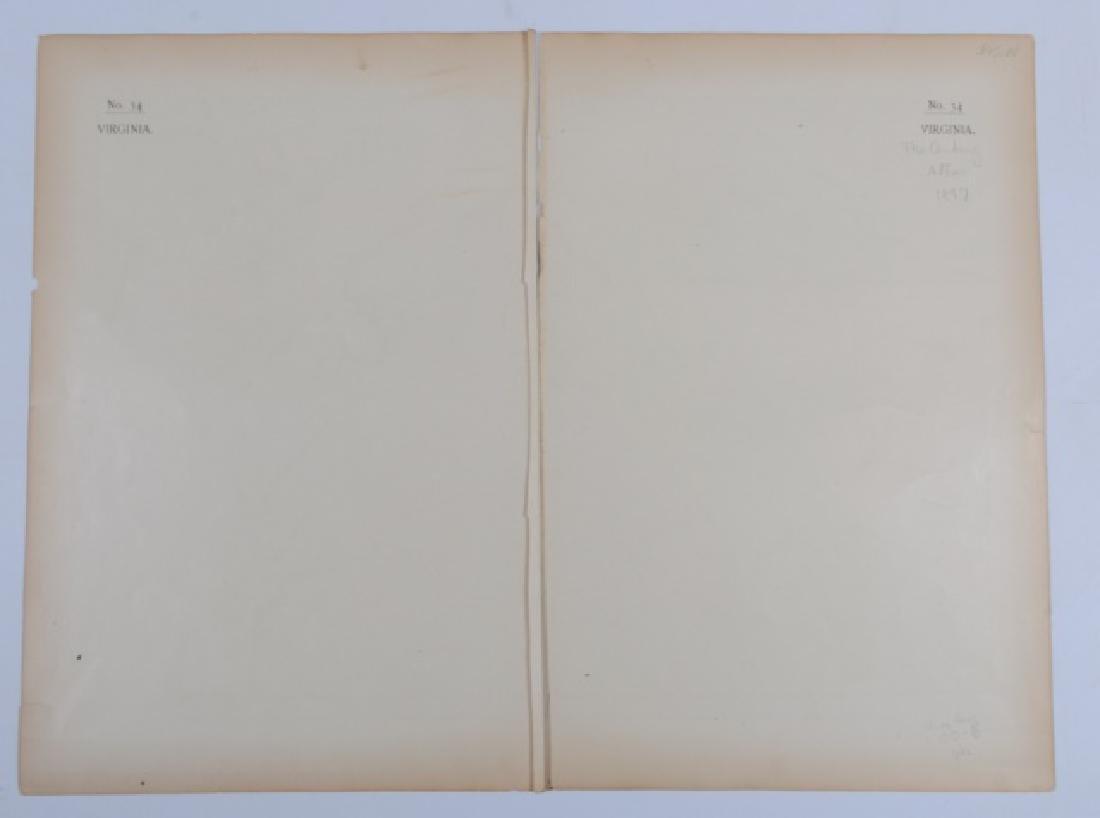 Maps From The Century Atlas Virginia, 1897 - 7