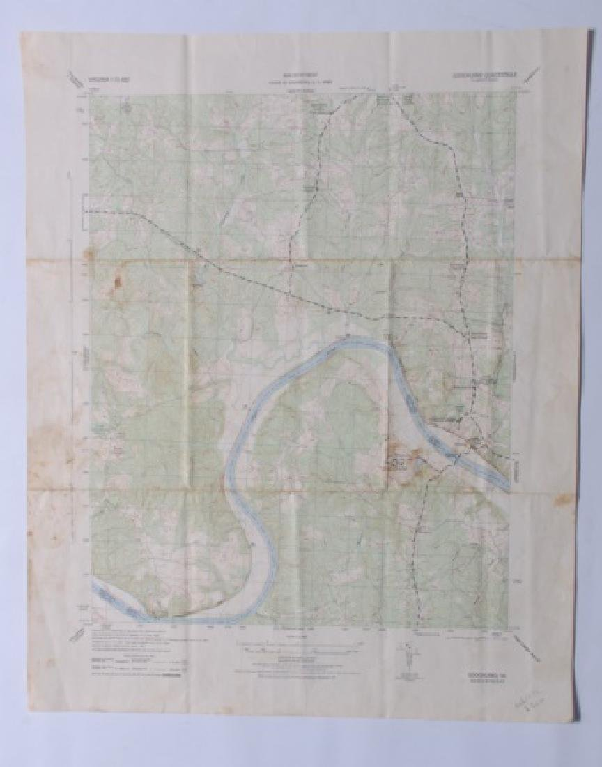 Virginia Topographical Maps and Index of May 1965 - 2