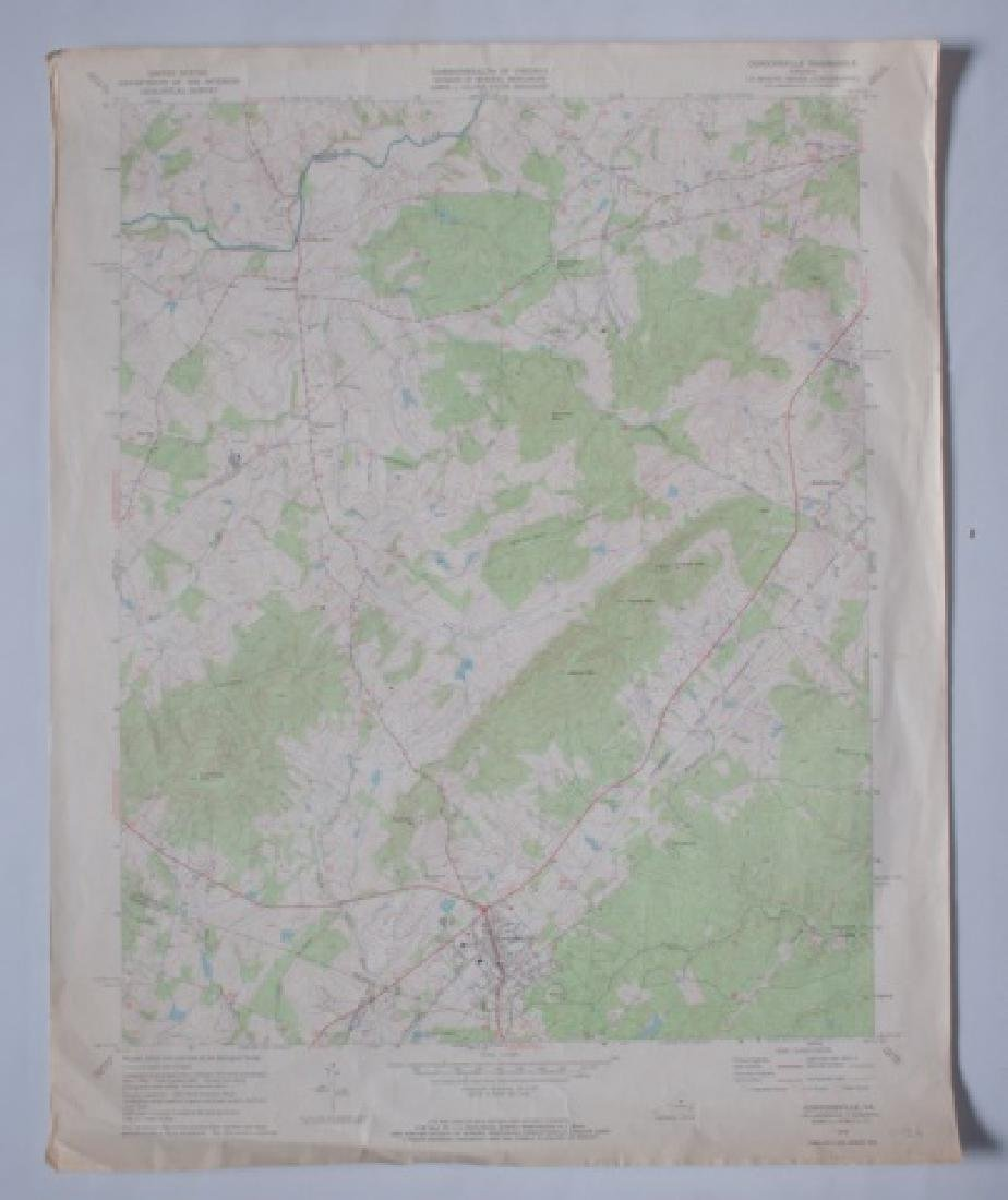 Virginia Topographical Maps and Index of May 1965 - 3