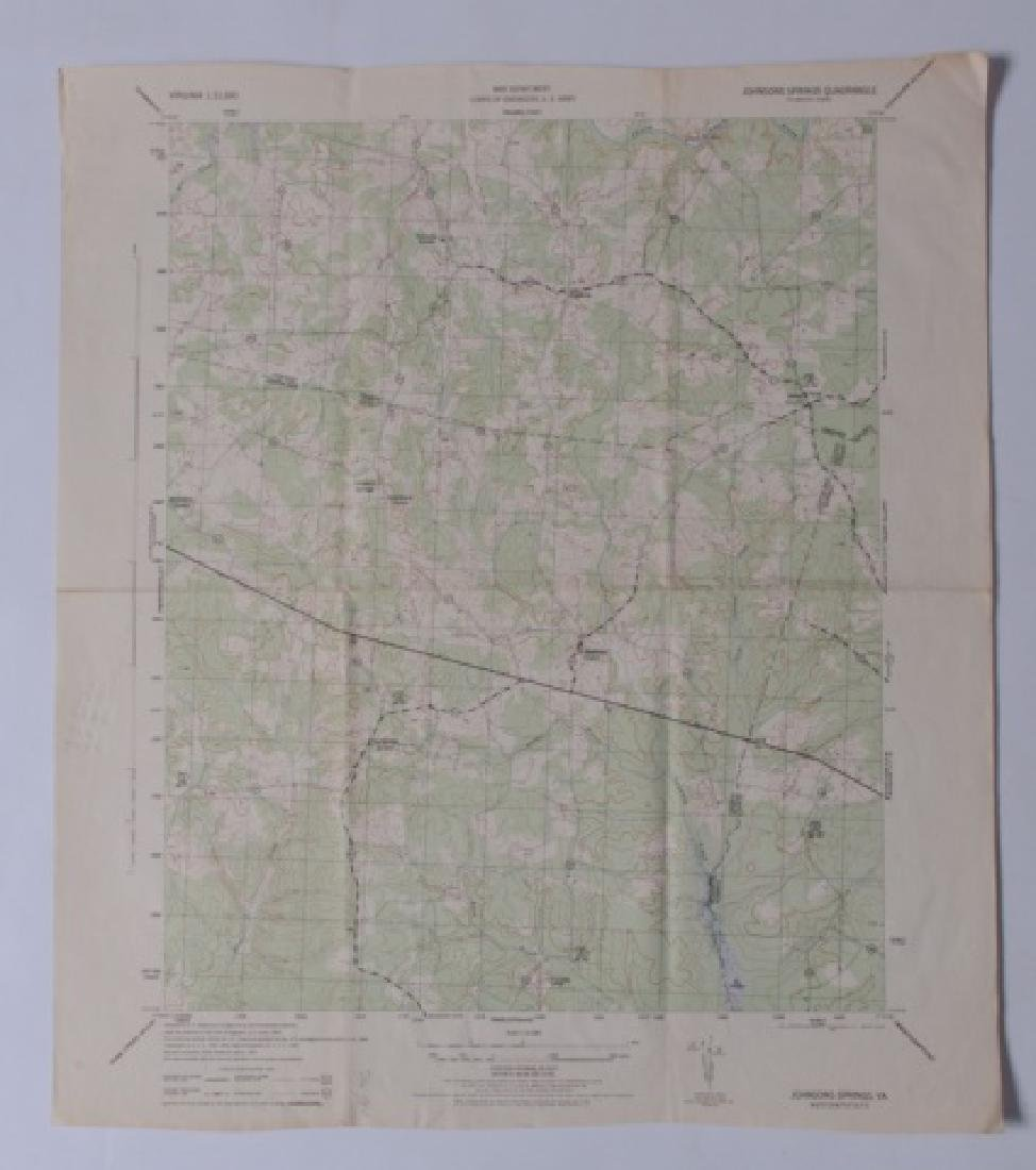 Virginia Topographical Maps and Index of May 1965 - 4