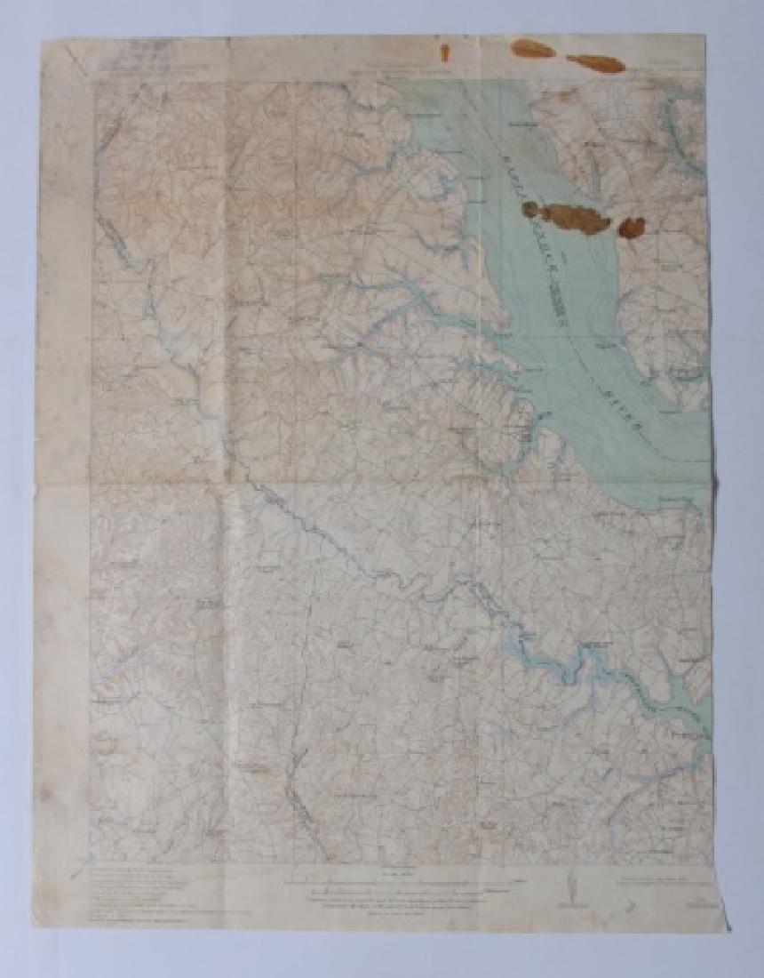 Virginia Topographical Maps and Index of May 1965 - 5