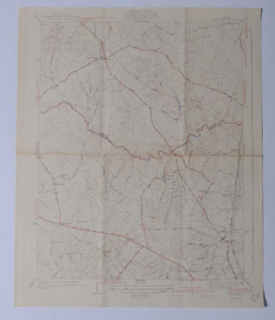 Virginia Topographical Maps and Index of May 1965 - 6