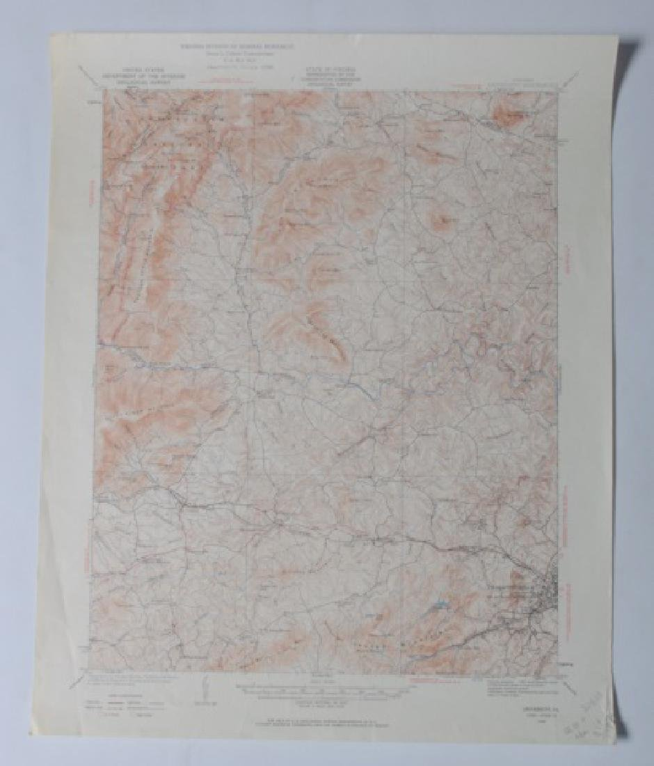 Virginia Topographical Maps and Index of May 1965 - 9