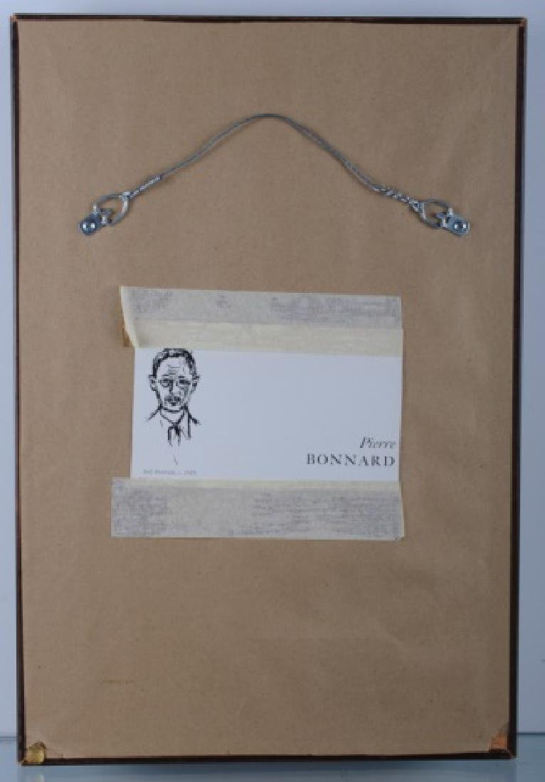 Manner of Pierre Bonnard Self Portrait - 4