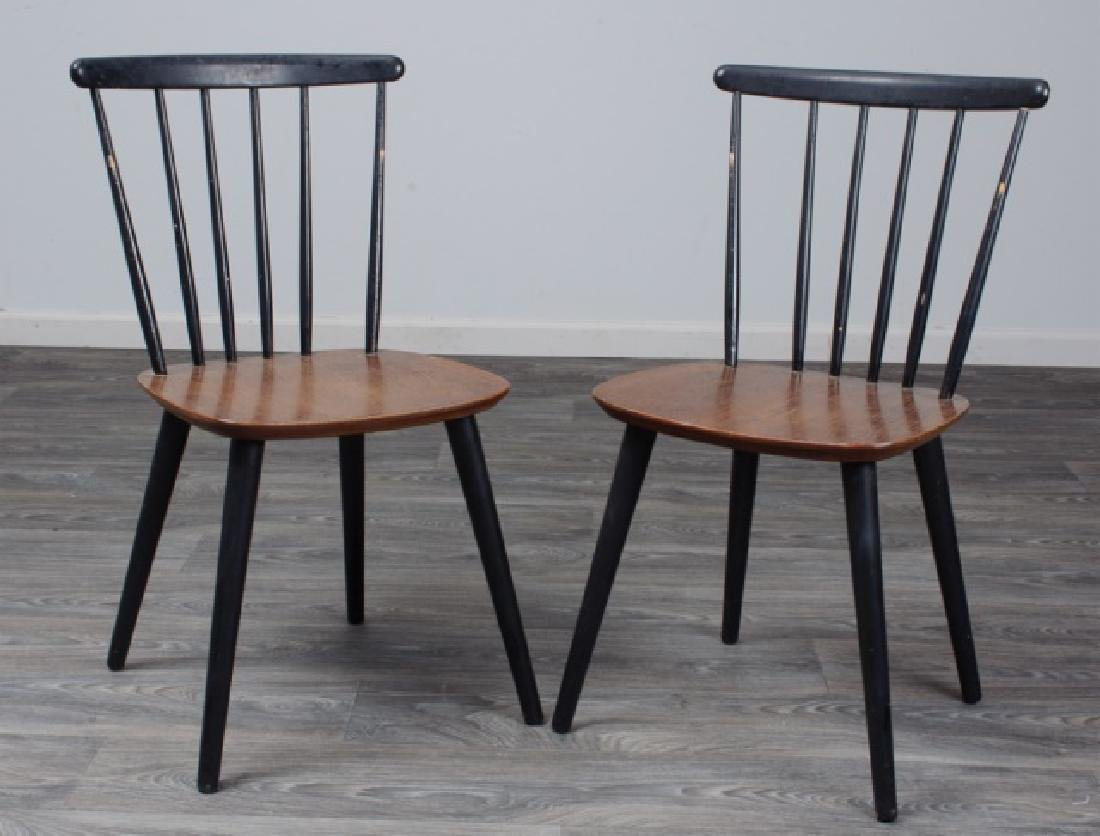 Farstrup Danish Side Chairs Pair