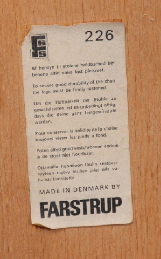 Farstrup Danish Side Chairs Pair - 9