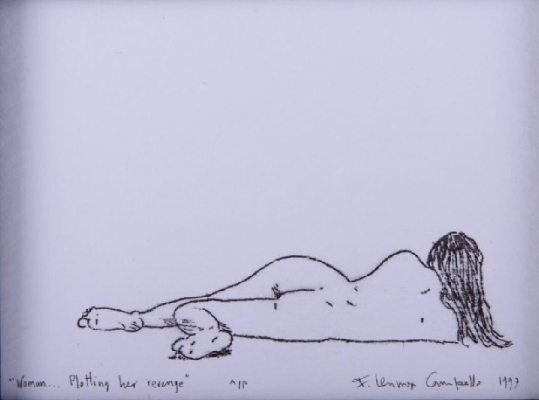 "F. L. Campello ""Woman...Plotting Her Revenge"" AP - 2"