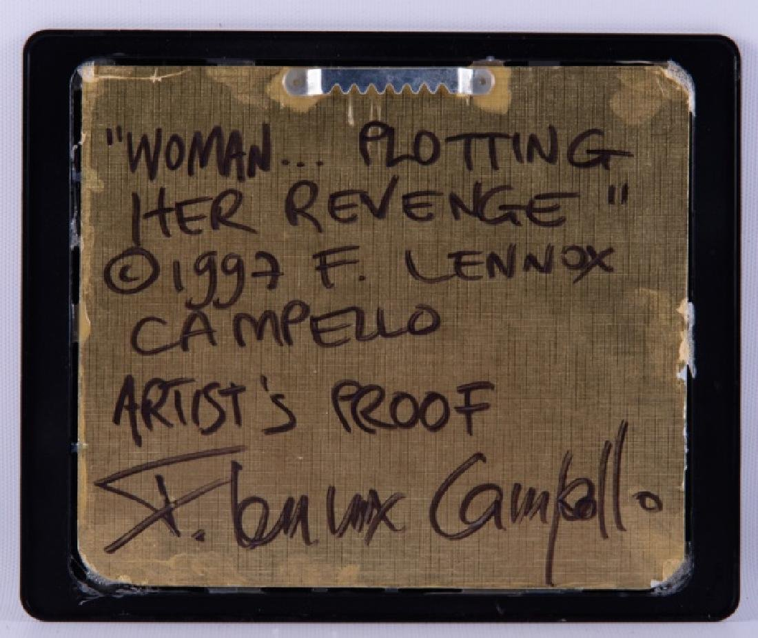"F. L. Campello ""Woman...Plotting Her Revenge"" AP - 5"
