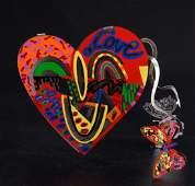 David Gerstein LE Open Heart Sculpture