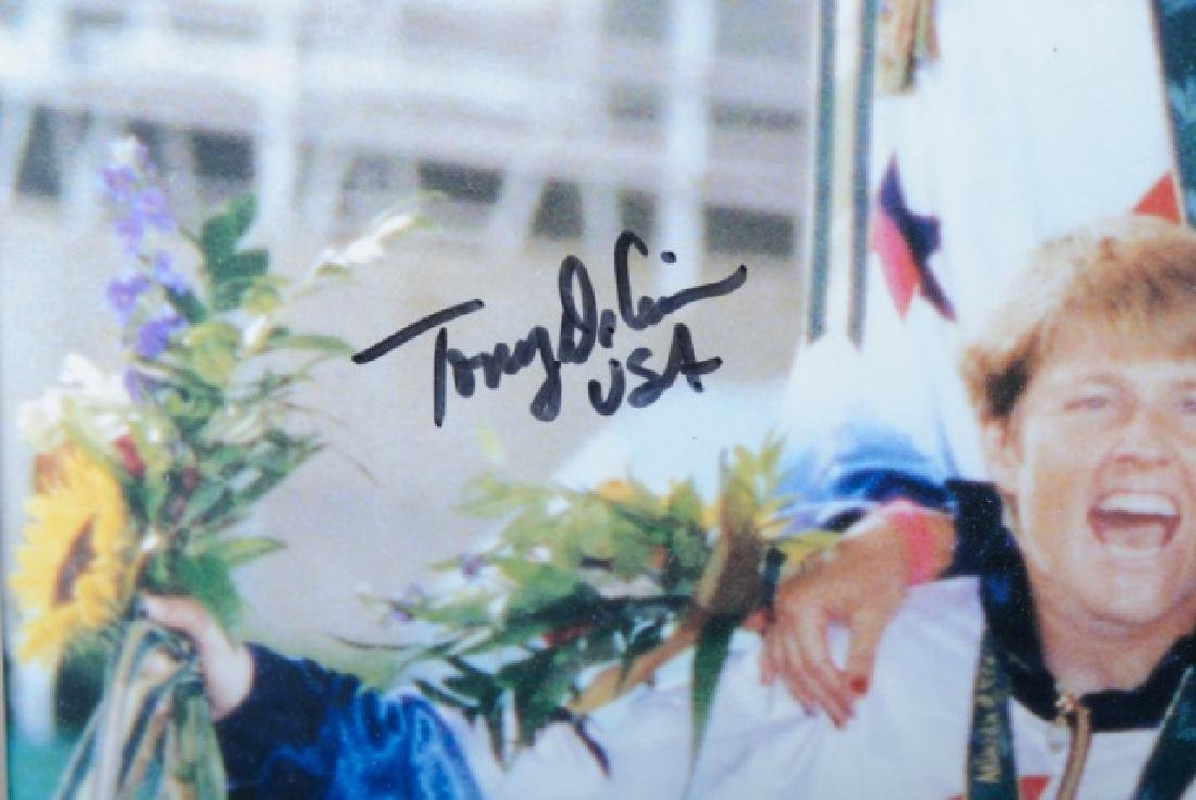 Autographed U.S. Women's Olympic Soccer Poster - 3